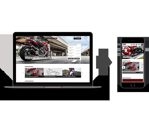Responsive Webdesign – Device Mockups