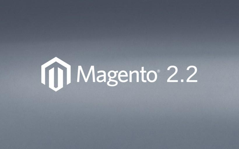 Beitragsbild Magento Version 2.2