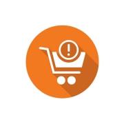 Grafik von Kaufabbrüche im Warenkorb